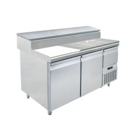 S1 / Table pizza - Inox -...