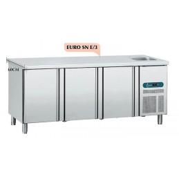 R1 / R2 - Table réfrigérée tout inox positive - Saladette