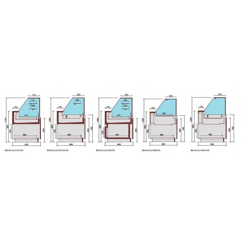 SUPREME HC - Buffet réfrigéré haute capacité