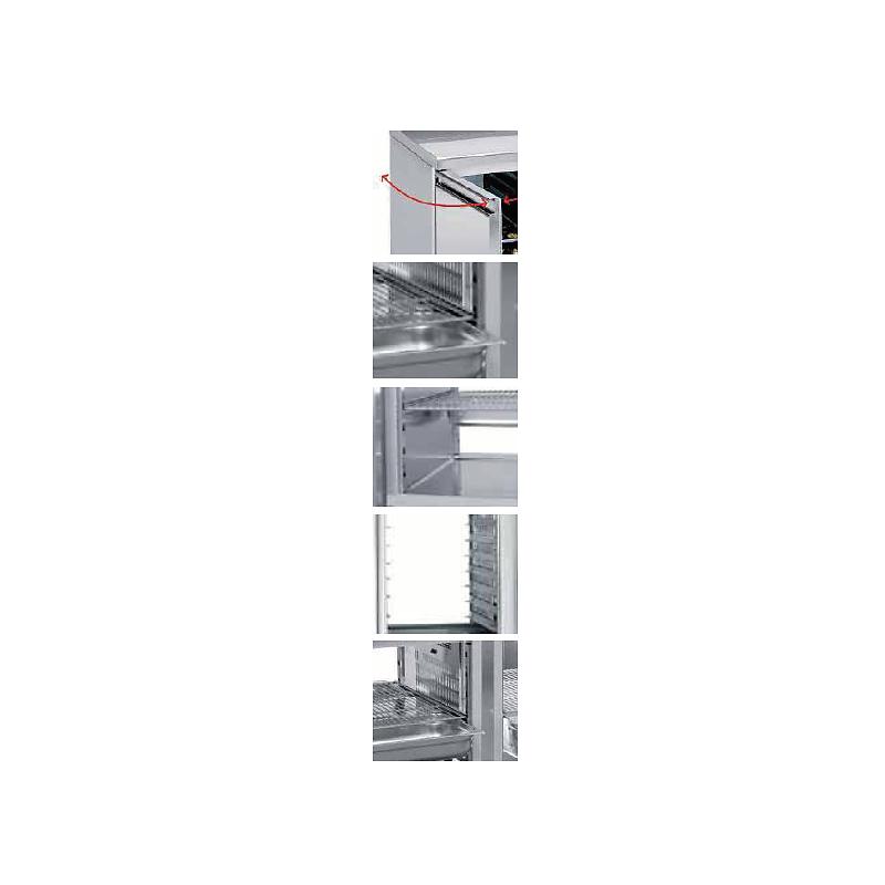 T402/S - Vitrine rfrigérée 2 compartiments