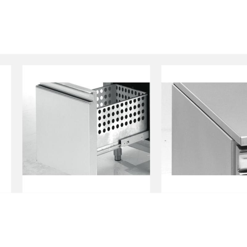 DUPLA - Congélateur vitres coulissantes