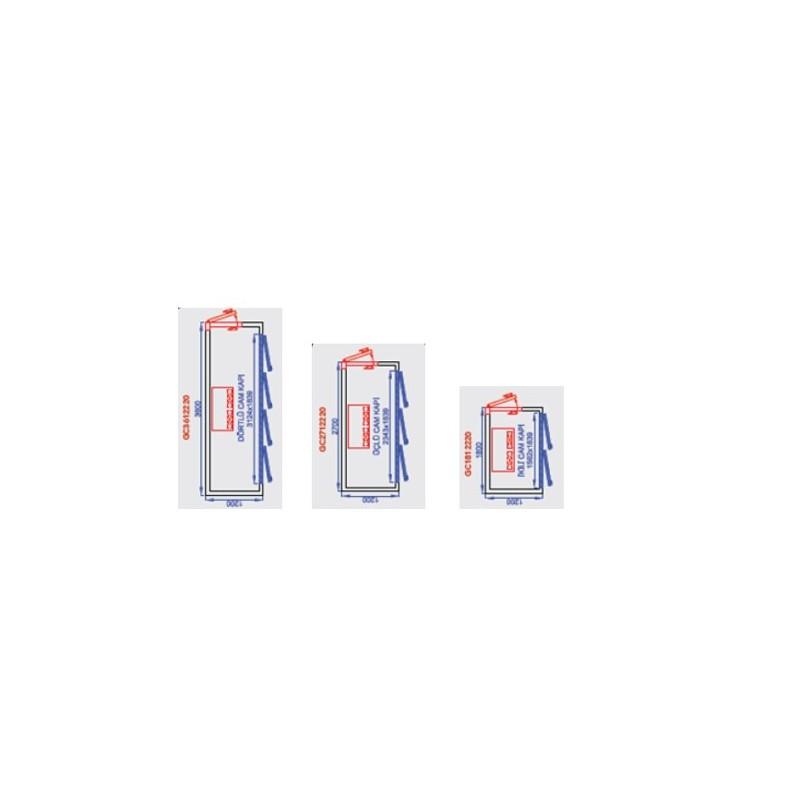AVF160 - Vitrine négative ventilée faible encombrement