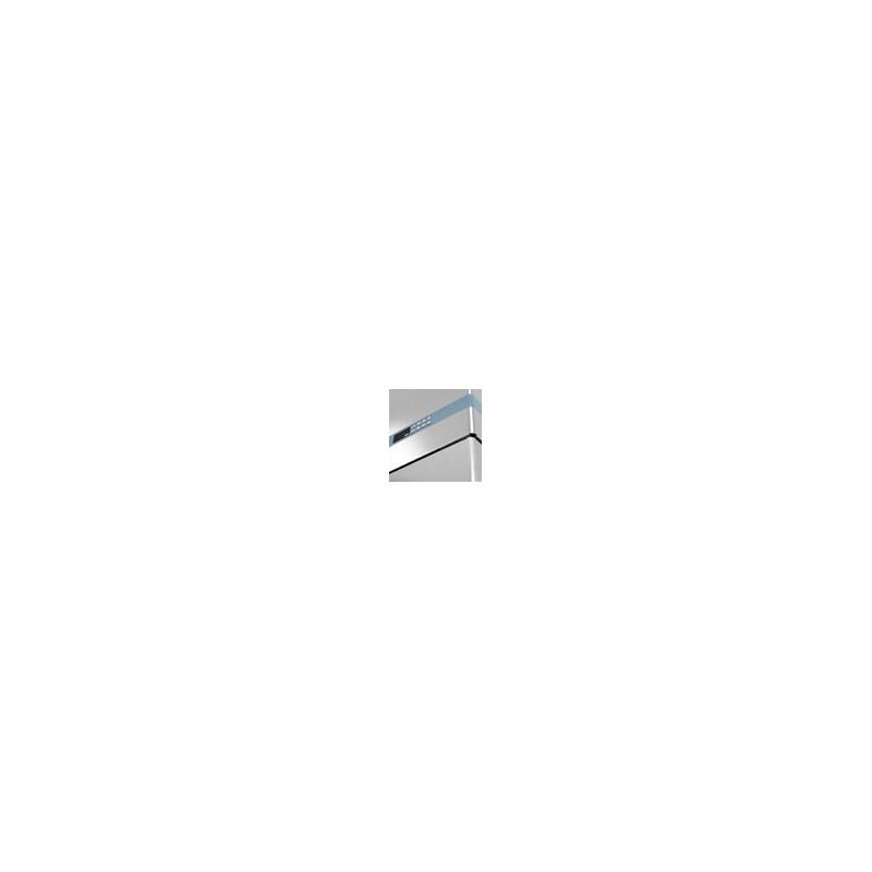 UFV134 - Vitrine verticale négative - 2 PORTES - Ventilé