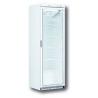 DV40 / Vitrine négative 1 porte vitrée - Froid ventilé - Blanche